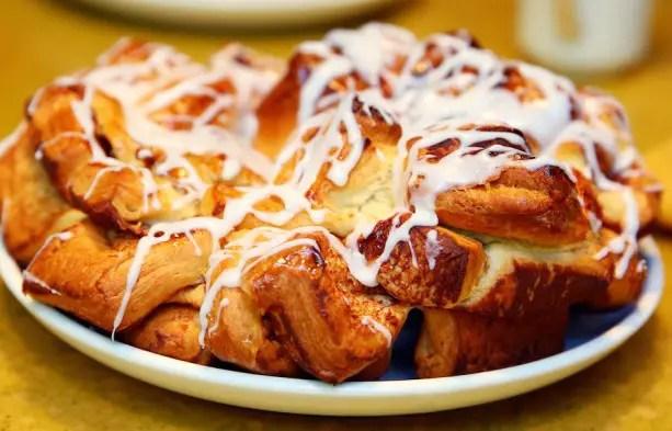 Disney Recipes: Chip's Sticky Bun Cake - Garden Grill Restaurant at Epcot