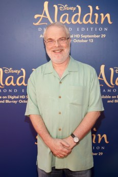 """BURBANK, CA - SEPTEMBER 27: Director/producer Ron Clements attends a special LA screening celebrating Diamond Edition release of """"ALADDIN"""" at The Walt Disney Studios on September 27, 2015 in Burbank, California. (Photo by Jesse Grant/Getty Images for Disney) *** Local Caption *** Ron Clements"""