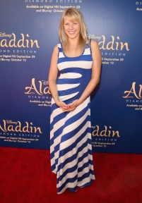 """BURBANK, CA - SEPTEMBER 27: Actress Jodie Sweetin attends a special LA screening celebrating Diamond Edition release of """"ALADDIN"""" at The Walt Disney Studios on September 27, 2015 in Burbank, California. (Photo by Jesse Grant/Getty Images for Disney) *** Local Caption *** Jodie Sweetin"""