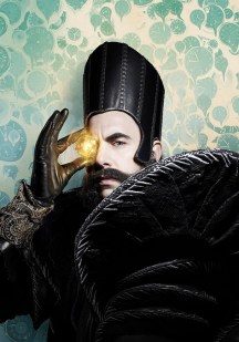 Sachal Baron Cohen is Time in ALICE THROUGH THE LOOKING GLASS.
