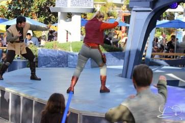 Jedi Training Trials of the Temple Disneyland-25
