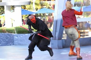 Jedi Training Trials of the Temple Disneyland-99