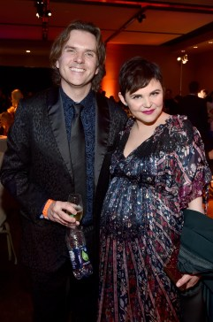 """HOLLYWOOD, CA - FEBRUARY 17: Director Byron Howard (L) and actress Ginnifer Goodwin attend the Los Angeles premiere of Walt Disney Animation Studios' """"Zootopia"""" on February 17, 2016 in Hollywood, California. (Photo by Alberto E. Rodriguez/Getty Images for Disney) *** Local Caption *** Ginnifer Goodwin; Byron Howard"""