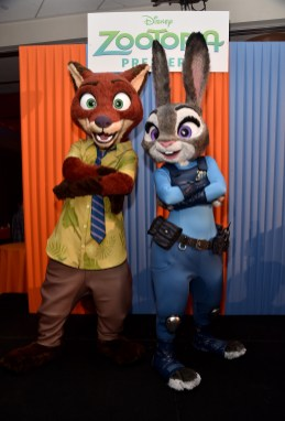 """HOLLYWOOD, CA - FEBRUARY 17: A general view of the atmosphere is seen during the Los Angeles premiere of Walt Disney Animation Studios' """"Zootopia"""" on February 17, 2016 in Hollywood, California. (Photo by Alberto E. Rodriguez/Getty Images for Disney)"""
