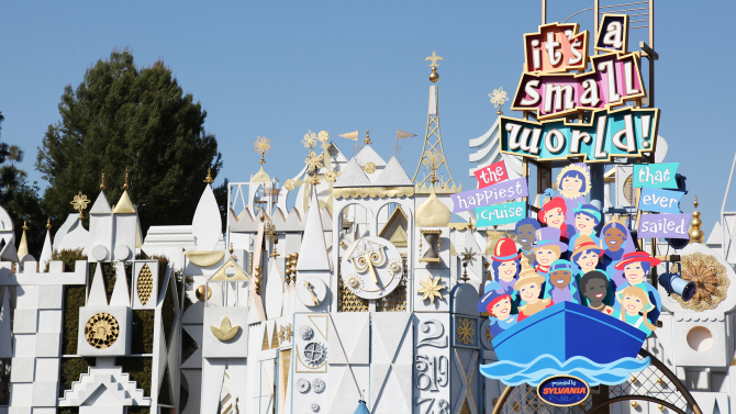"""it's a small world"" Mall to Get an All New Look at the Disneyland Resort This Spring"