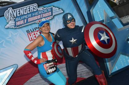Super Hero Half Disneyland Resort (2)