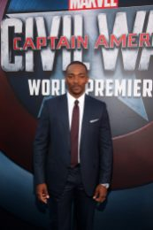 """HOLLYWOOD, CALIFORNIA - APRIL 12: Actor Anthony Mackie attends The World Premiere of Marvel's """"Captain America: Civil War"""" at Dolby Theatre on April 12, 2016 in Los Angeles, California. (Photo by Jesse Grant/Getty Images for Disney) *** Local Caption *** Anthony Mackie"""