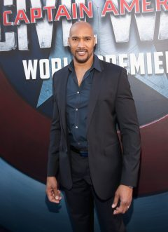 """HOLLYWOOD, CALIFORNIA - APRIL 12: Actor Henry Simmons attends The World Premiere of Marvel's """"Captain America: Civil War"""" at Dolby Theatre on April 12, 2016 in Los Angeles, California. (Photo by Jesse Grant/Getty Images for Disney) *** Local Caption *** Henry Simmons"""