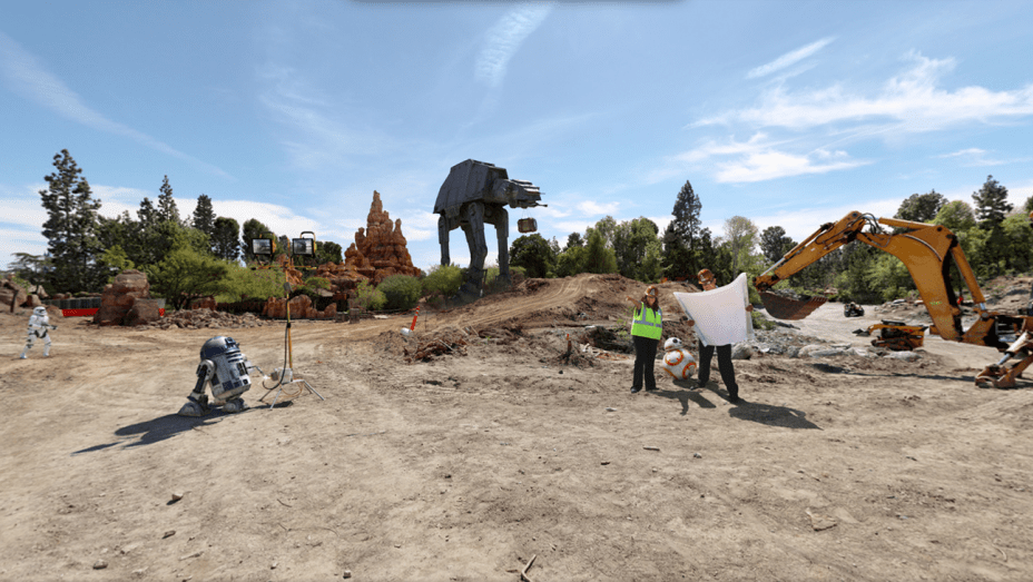 Disneyland Breaks Ground on Star Wars Expansion