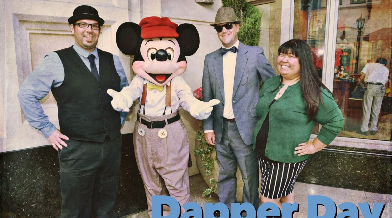 Dapper Day Descend on Disneyland