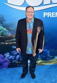 HOLLYWOOD, CA - JUNE 08: Executive producer John Lasseter attends The World Premiere of Disney-Pixar's FINDING DORY on Wednesday, June 8, 2016 in Hollywood, California. (Photo by Alberto E. Rodriguez/Getty Images for Disney) *** Local Caption *** John Lasseter