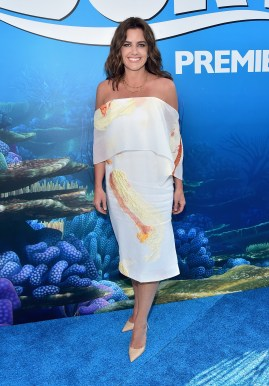HOLLYWOOD, CA - JUNE 08: Producer Lindsey Collins attends The World Premiere of Disney-Pixar's FINDING DORY on Wednesday, June 8, 2016 in Hollywood, California. (Photo by Alberto E. Rodriguez/Getty Images for Disney) *** Local Caption *** Lindsey Collins