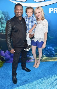HOLLYWOOD, CA - JUNE 08: Actor Alfonso Ribeiro (L) and guests attend The World Premiere of Disney-Pixar's FINDING DORY on Wednesday, June 8, 2016 in Hollywood, California. (Photo by Alberto E. Rodriguez/Getty Images for Disney) *** Local Caption *** Alfonso Ribeiro