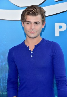 HOLLYWOOD, CA - JUNE 08: Actor Garrett Clayton attends The World Premiere of Disney-Pixar's FINDING DORY on Wednesday, June 8, 2016 in Hollywood, California. (Photo by Alberto E. Rodriguez/Getty Images for Disney) *** Local Caption *** Garrett Clayton