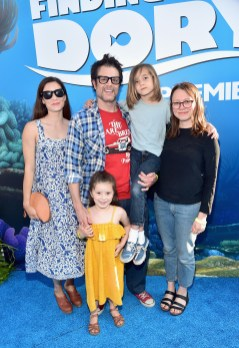 HOLLYWOOD, CA - JUNE 08: (L-R) Naomi Nelson, actor Johnny Knoxville and guests attend The World Premiere of Disney-Pixar's FINDING DORY on Wednesday, June 8, 2016 in Hollywood, California. (Photo by Alberto E. Rodriguez/Getty Images for Disney) *** Local Caption *** Naomi Nelson; Johnny Knoxville
