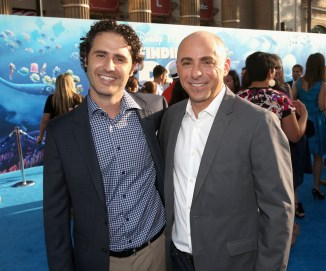 HOLLYWOOD, CA - JUNE 08: Director of 'Piper', Pixar Animation Studios' new short, Alan Barillaro (L) and producer of 'Piper', Pixar Animation Studios' new short, Marc Sondheimer attend The World Premiere of Disney-Pixar's FINDING DORY on Wednesday, June 8, 2016 in Hollywood, California. (Photo by Jesse Grant/Getty Images for Disney ) *** Local Caption *** Marc Sondheimer; Alan Barillaro