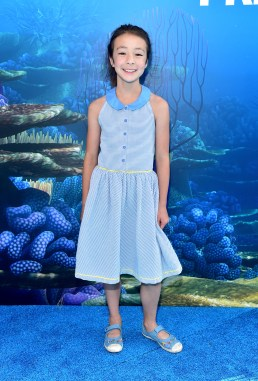 HOLLYWOOD, CA - JUNE 08: Actress Aubrey Anderson-Emmons attends The World Premiere of Disney-Pixar's FINDING DORY on Wednesday, June 8, 2016 in Hollywood, California. (Photo by Alberto E. Rodriguez/Getty Images for Disney) *** Local Caption *** Aubrey Anderson-Emmons