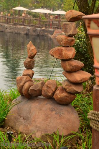 An example of rock structure in Adventure Isle
