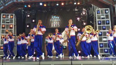 Disneyland Resort All-American College Band - Hollywood Backlot Stage