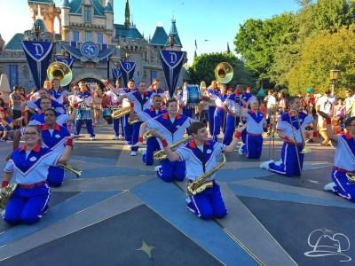 Disneyland Resort All-American College Band - Sleeping Beauty Castle