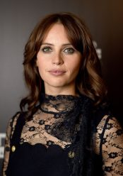LONDON, ENGLAND - JULY 15: Felicity Jones attends the Star Wars Celebration at ExCel on July 15, 2016 in London, England. (Photo by Ben A. Pruchnie/Getty Images for Walt Disney Studios) *** Local Caption *** Felicity Jones