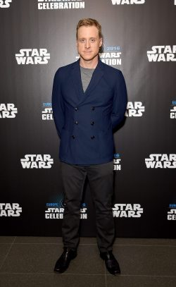 LONDON, ENGLAND - JULY 15: Alan Tudyk attends the Star Wars Celebration 2016 at ExCel on July 15, 2016 in London, England. (Photo by Ben A. Pruchnie/Getty Images for Walt Disney Studios) *** Local Caption *** Alan Tudyk