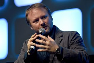 LONDON, ENGLAND - JULY 17: Rian Johnson, director of Star Wars Episode VIII, on stage during Future Directors Panel at the Star Wars Celebration 2016 at ExCel on July 17, 2016 in London, England. (Photo by Ben A. Pruchnie/Getty Images for Walt Disney Studios) *** Local Caption *** Rian Johnson