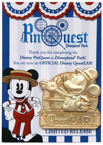 Disney Pin Scavenger Hunt