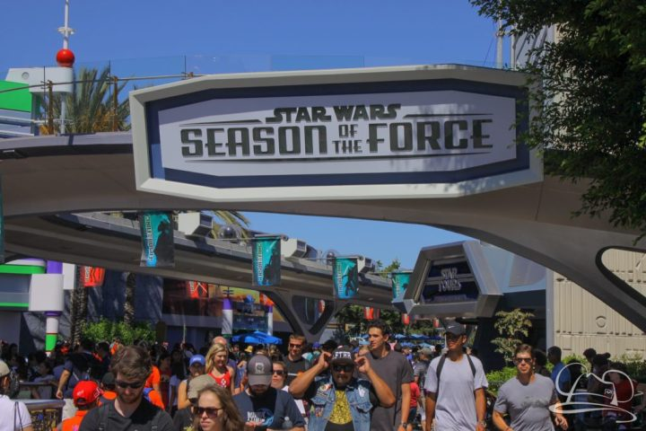 Star Wars Season of the Force continues to draw people into Tomorrowland.