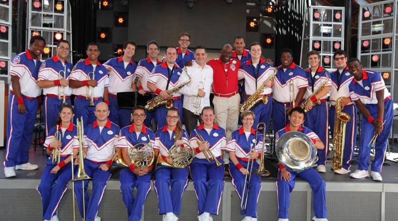 Rex Richardson & the Disneyland Resort 2016 All-American College Band (PC: Richard Takenaga)