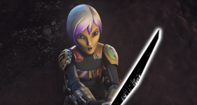 Sabine with Dark Saber