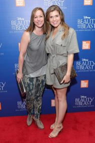 """NEW YORK, NY - SEPTEMBER 18: Paige Davis and Julia Rae Schlucter attend the special screening of Disney's """"Beauty and the Beast"""" to celebrate the 25th Anniversary Edition release on Blu-Ray and DVD on September 18, 2016 in New York City. (Photo by Neilson Barnard/Getty Images for Walt Disney Studios Home Entertainment) *** Local Caption *** Paige Davis; Julia Rae Schlucter"""