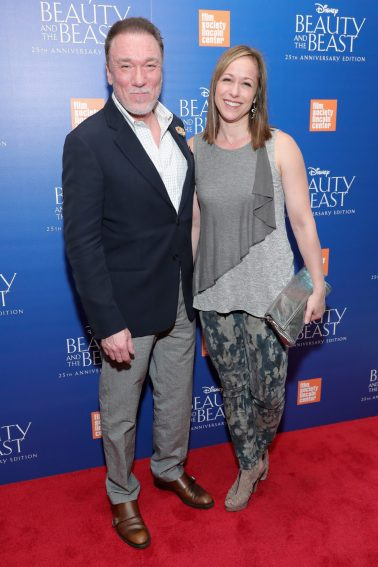 """NEW YORK, NY - SEPTEMBER 18: Patrick Page and Paige Davis attend the special screening of Disney's """"Beauty and the Beast"""" to celebrate the 25th Anniversary Edition release on Blu-Ray and DVD on September 18, 2016 in New York City. (Photo by Neilson Barnard/Getty Images for Walt Disney Studios Home Entertainment) *** Local Caption *** Patrick Page; Paige Davis"""