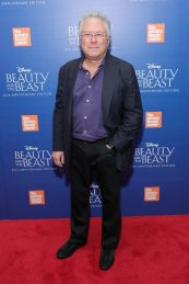 "NEW YORK, NY - SEPTEMBER 18: Alan Menken attends the special screening of Disney's ""Beauty and the Beast"" to celebrate the 25th Anniversary Edition release on Blu-Ray and DVD on September 18, 2016 in New York City. (Photo by Neilson Barnard/Getty Images for Walt Disney Studios Home Entertainment) *** Local Caption *** Alan Menken"