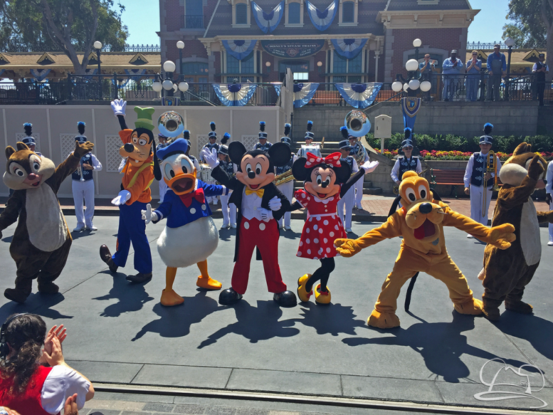 Updated Castle Show and March Down Main Street Comes to Disneyland