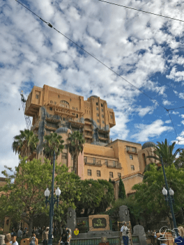 The Hollywood Tower Hotel Sign Removed from Tower of Terror in Disney California Adventure
