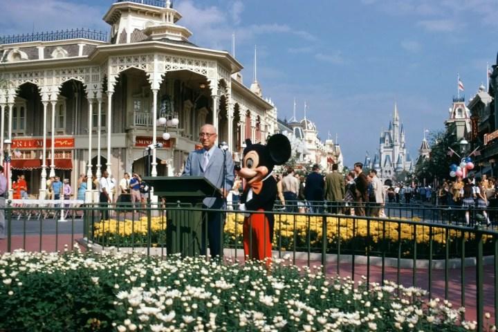 Roy O. Disney & Mickey Mouse - Walt Disney World Opening Day Dedication Speech