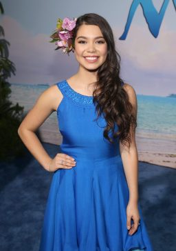 """HOLLYWOOD, CA - NOVEMBER 14: Actress Auli'i Cravalho attends The World Premiere of Disney's """"MOANA"""" at the El Capitan Theatre on Monday, November 14, 2016 in Hollywood, CA. (Photo by Jesse Grant/Getty Images for Disney) *** Local Caption *** Auli'i Cravalho"""