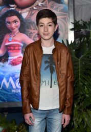 "HOLLYWOOD, CA - NOVEMBER 14: Actor Mason Cook attends The World Premiere of Disney's ""MOANA"" at the El Capitan Theatre on Monday, November 14, 2016 in Hollywood, CA. (Photo by Alberto E. Rodriguez/Getty Images for Disney) *** Local Caption *** Mason Cook"