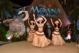 """HOLLYWOOD, CA - NOVEMBER 14: A view of the atmosphere at The World Premiere of Disney's """"MOANA"""" at the El Capitan Theatre on Monday, November 14, 2016 in Hollywood, CA. (Photo by Alberto E. Rodriguez/Getty Images for Disney)"""