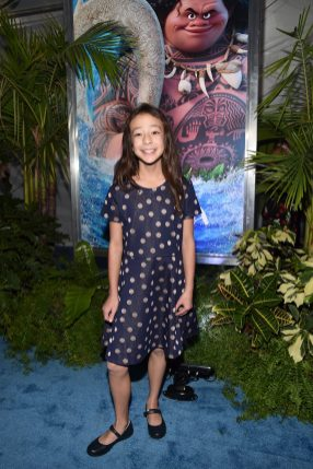 """HOLLYWOOD, CA - NOVEMBER 14: Actress Aubrey Anderson-Emmons attends The World Premiere of Disney's """"MOANA"""" at the El Capitan Theatre on Monday, November 14, 2016 in Hollywood, CA. (Photo by Alberto E. Rodriguez/Getty Images for Disney) *** Local Caption *** Aubrey Anderson-Emmons"""