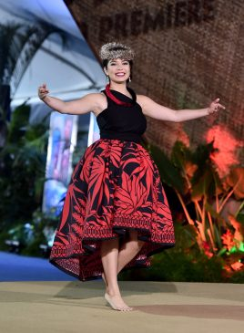"""HOLLYWOOD, CA - NOVEMBER 14: Actress Auli'i Cravalho performs onstage at The World Premiere of Disney's """"MOANA"""" at the El Capitan Theatre on Monday, November 14, 2016 in Hollywood, CA. (Photo by Alberto E. Rodriguez/Getty Images for Disney) *** Local Caption *** Auli'i Cravalho"""