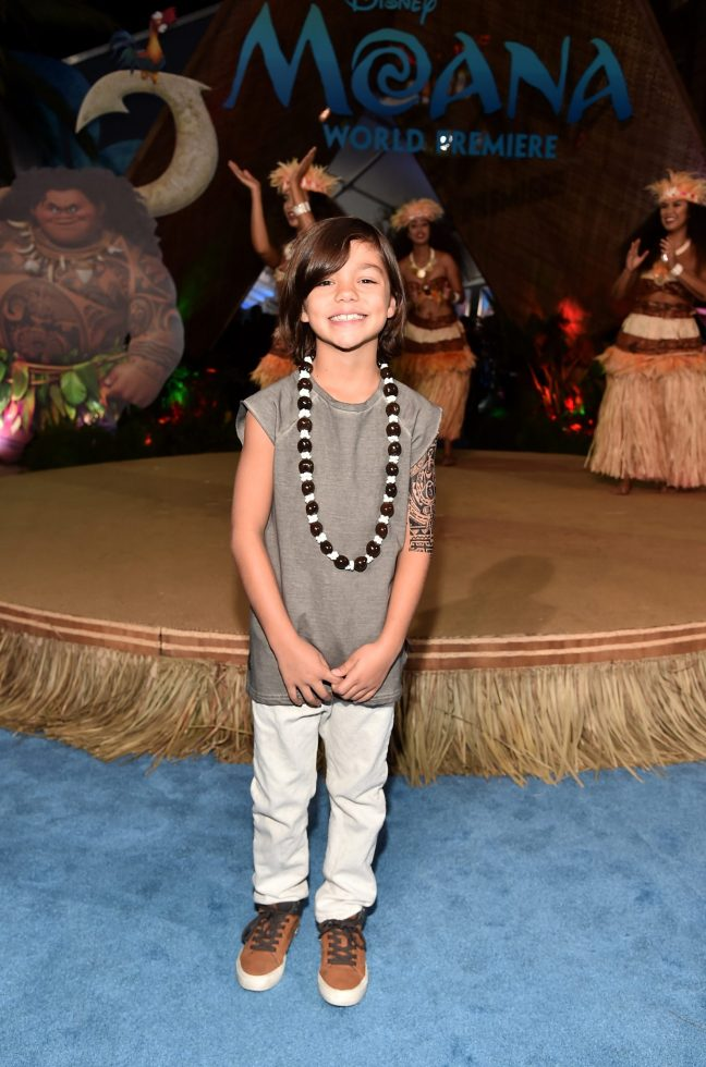 "HOLLYWOOD, CA - NOVEMBER 14: Actor Malachi Barton attends The World Premiere of Disney's ""MOANA"" at the El Capitan Theatre on Monday, November 14, 2016 in Hollywood, CA. (Photo by Alberto E. Rodriguez/Getty Images for Disney) *** Local Caption *** Malachi Barton"