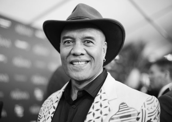 """HOLLYWOOD, CA - NOVEMBER 14: (EDITORS NOTE: Image has been shot in black and white. Color version not available.) Songwriter Opetaia Foa'i attends The World Premiere of Disney's """"MOANA"""" at the El Capitan Theatre on Monday, November 14, 2016 in Hollywood, CA. (Photo by Charley Gallay/Getty Images for Disney) *** Local Caption *** Opetaia Foa'i"""