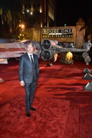 "HOLLYWOOD, CA - DECEMBER 10: Actor Mads Mikkelsen attends The World Premiere of Lucasfilm's highly anticipated, first-ever, standalone Star Wars adventure, ""Rogue One: A Star Wars Story"" at the Pantages Theatre on December 10, 2016 in Hollywood, California. (Photo by Marc Flores/Getty Images for Disney) *** Local Caption *** Mads Mikkelsen"