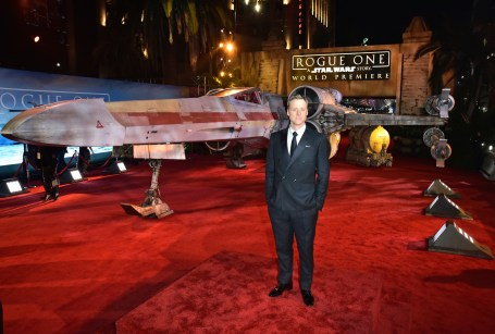 "HOLLYWOOD, CA - DECEMBER 10: Actor Alan Tudyk attends The World Premiere of Lucasfilm's highly anticipated, first-ever, standalone Star Wars adventure, ""Rogue One: A Star Wars Story"" at the Pantages Theatre on December 10, 2016 in Hollywood, California. (Photo by Marc Flores/Getty Images for Disney) *** Local Caption *** Alan Tudyk"