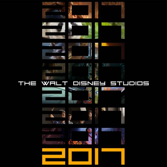 Disney Releases Slate of 2017 Movies