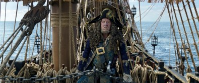 """""""PIRATES OF THE CARIBBEAN: DEAD MEN TELL NO TALES"""" The villainous Captain Salazar (Javier Bardem) pursues Jack Sparrow (Johnny Depp) as he searches for the trident used by Poseidon Ph: Film Frame ©Disney Enterprises, Inc. All Rights Reserved."""