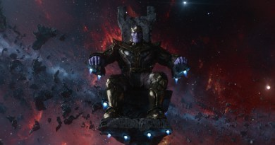 Thanos - Avengers: Infinity War Begins Production