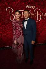"Chrissy Tiegen and John Legend arrive for the world premiere of Disney's live-action ""Beauty and the Beast"" at the El Capitan Theatre in Hollywood as the cast and filmmakers continue their worldwide publicity tour. (Photo: Alex J. Berliner/ABImages)"